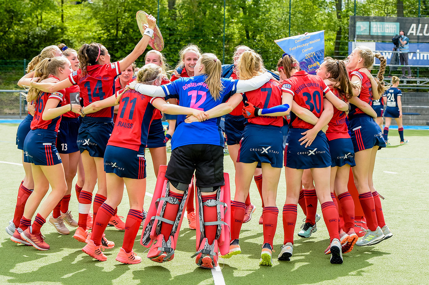 XSTAFF expands cooperation with the Düsseldorf hockey club